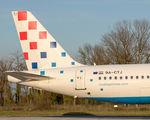 9A-CTJ - Croatia Airlines Airbus A320 aircraft