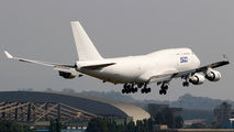 Rare visit of Ruby Star Boeing 747F to Mumbai title=