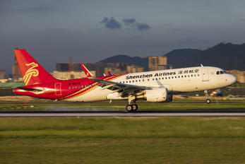 B-8078 - Shenzhen Airlines Airbus A320