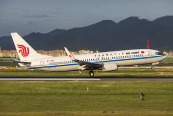B-5447 - Air China Boeing 737-800
