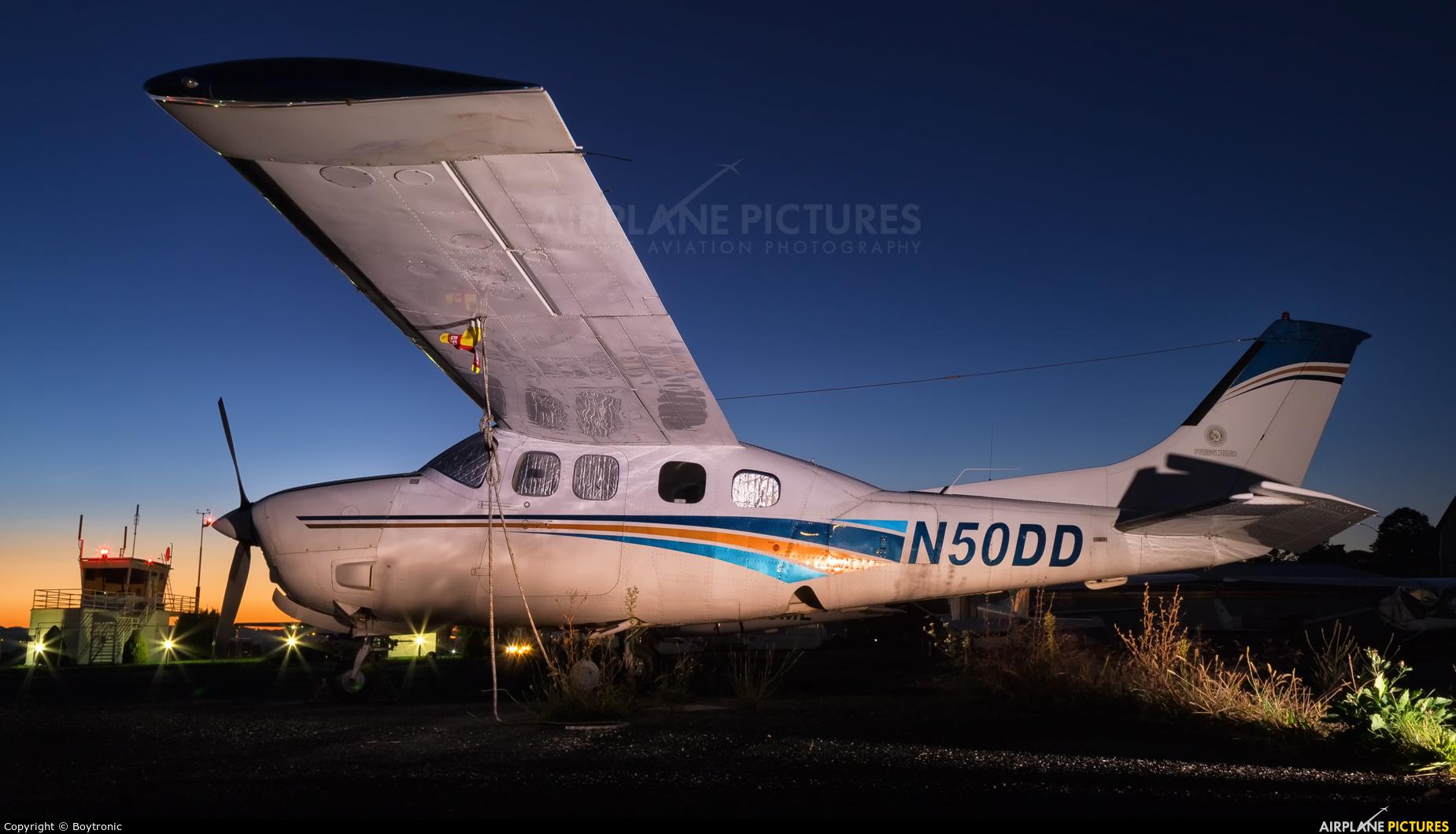 Private N50DD aircraft at Lučko