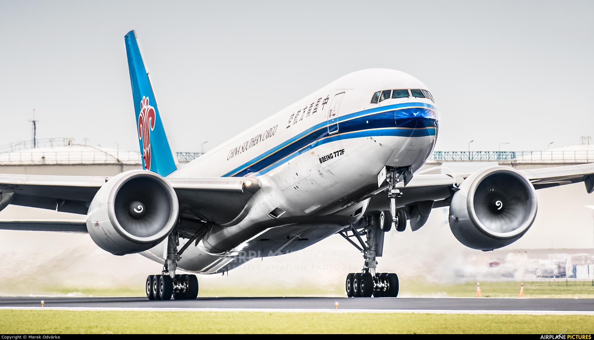 China Southern Cargo B-2081 aircraft at Amsterdam - Schiphol