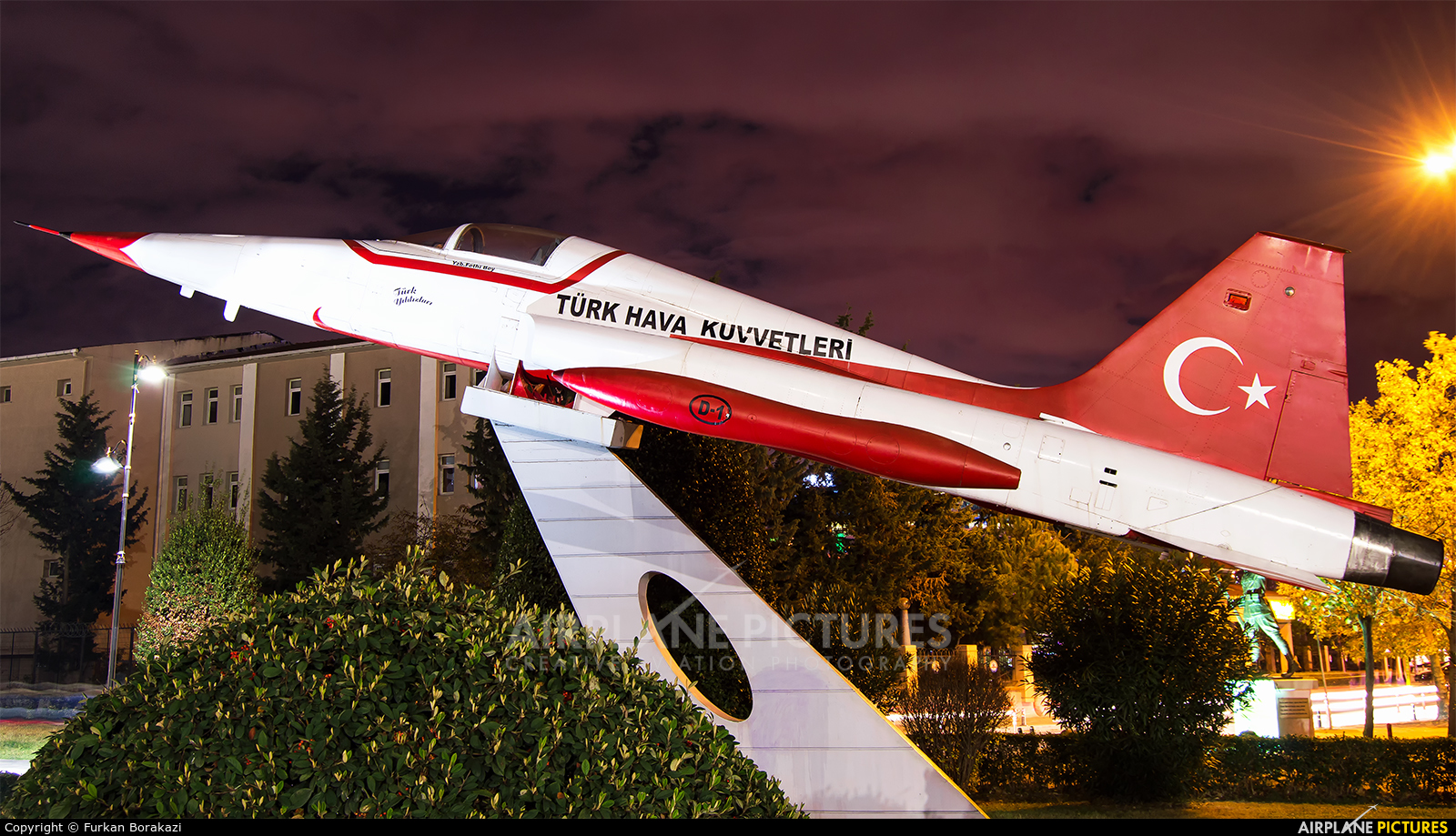 Turkey - Air Force : Turkish Stars 69-7125 aircraft at Off Airport - Turkey