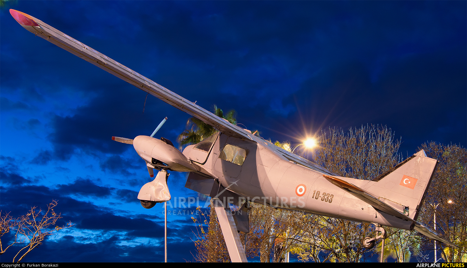 Turkey - Air Force 10-333 aircraft at Off Airport - Turkey