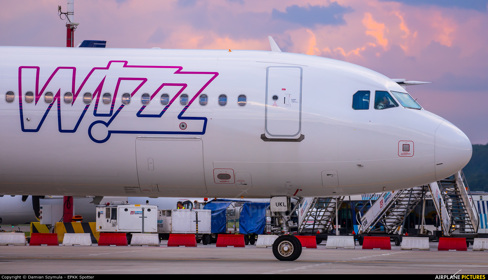 Wizz Air UK G-WUKL aircraft at Kraków - John Paul II Intl
