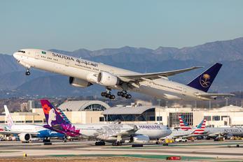 HZ-AK39 - Saudi Arabian Airlines Boeing 777-300ER