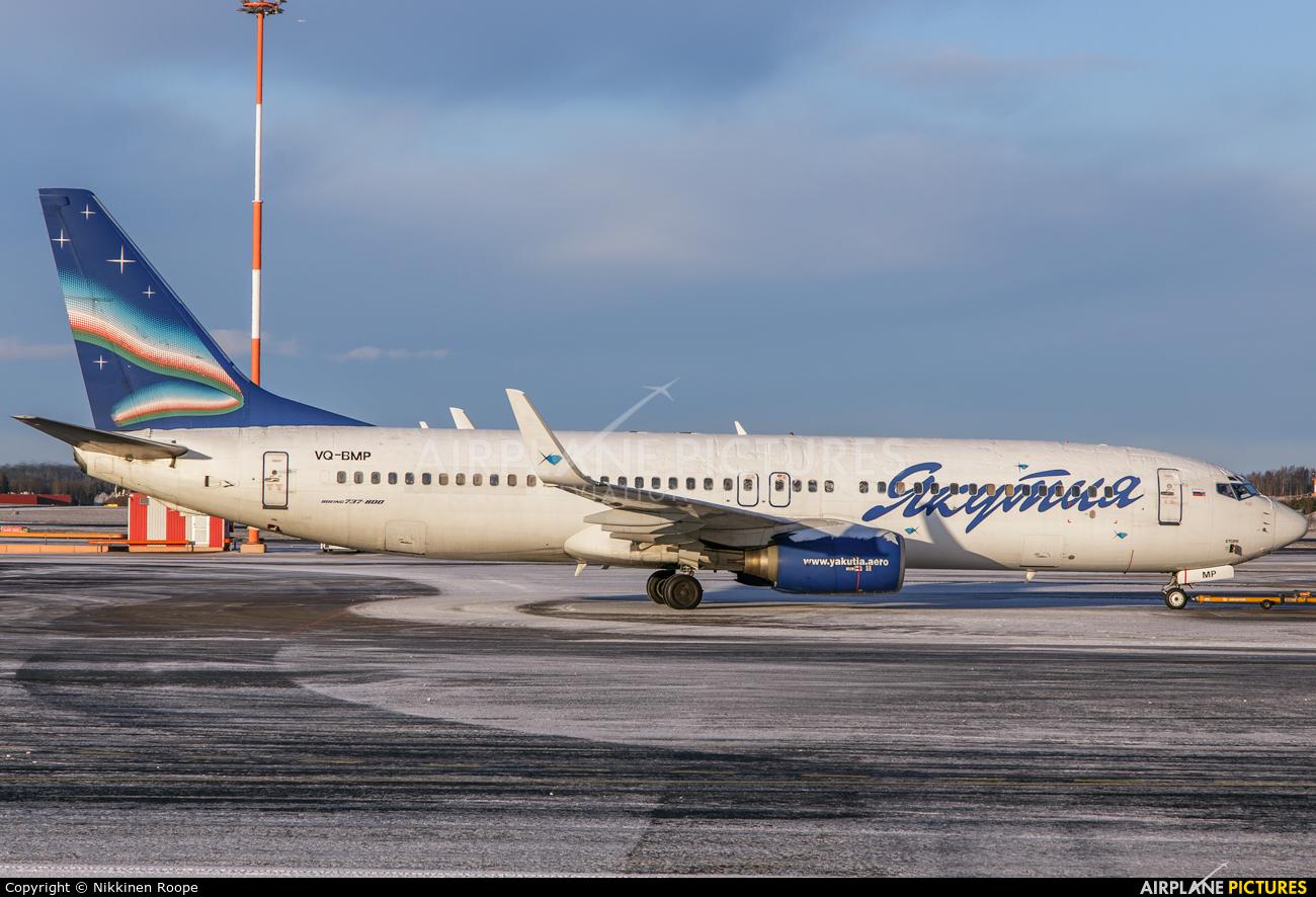 Yakutia Airlines VQ-BMP aircraft at Helsinki - Vantaa