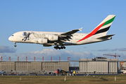 A6-EEH - Emirates Airlines Airbus A380 aircraft