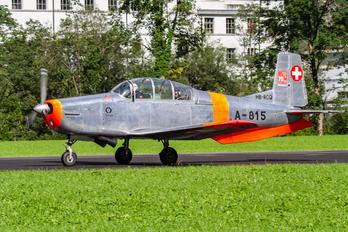 HB-RCQ - Private Pilatus P-3