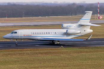 N786CS - Private Dassault Falcon 7X