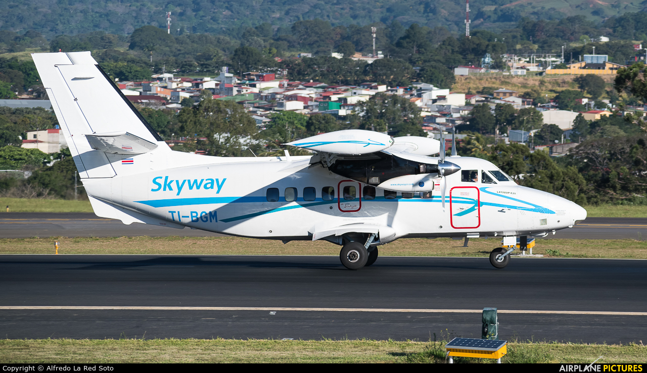 Skyway Costa Rica TI-BGM aircraft at San Jose - Juan Santamaría Intl