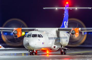 G-FBXD - SAS - Scandinavian Airlines (Flybe) ATR 72 (all models)