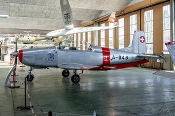 N848AD - Fliegermuseum Altenrhein Pilatus P-3