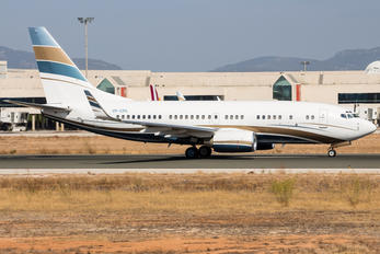 VP-CPA - Private Boeing 737-700 BBJ