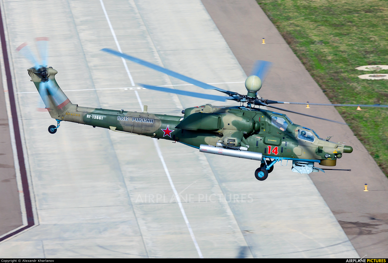 Russia - Air Force 14 aircraft at Undisclosed Location