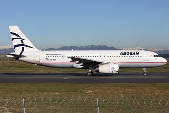 SX-DVM - Aegean Airlines Airbus A320