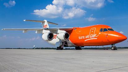 OO-TAW - TNT British Aerospace BAe 146-200/Avro RJ85-QT Quiet Trader