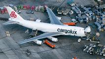 LX-ECV - Cargolux Boeing 747-400F, ERF aircraft