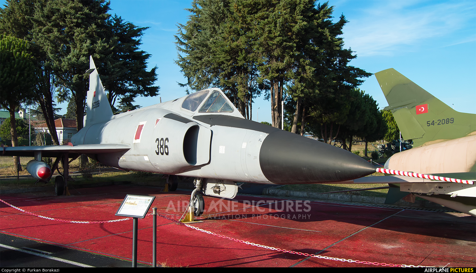 Turkey - Air Force 55-3386 aircraft at Istanbul - Ataturk
