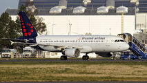 OO-SNH - Brussels Airlines Airbus A320 aircraft