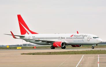 VQ-BRF - Royal Flight Boeing 737-800