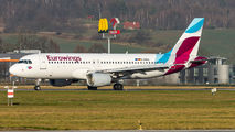 D-ABNL - Eurowings Airbus A320 aircraft
