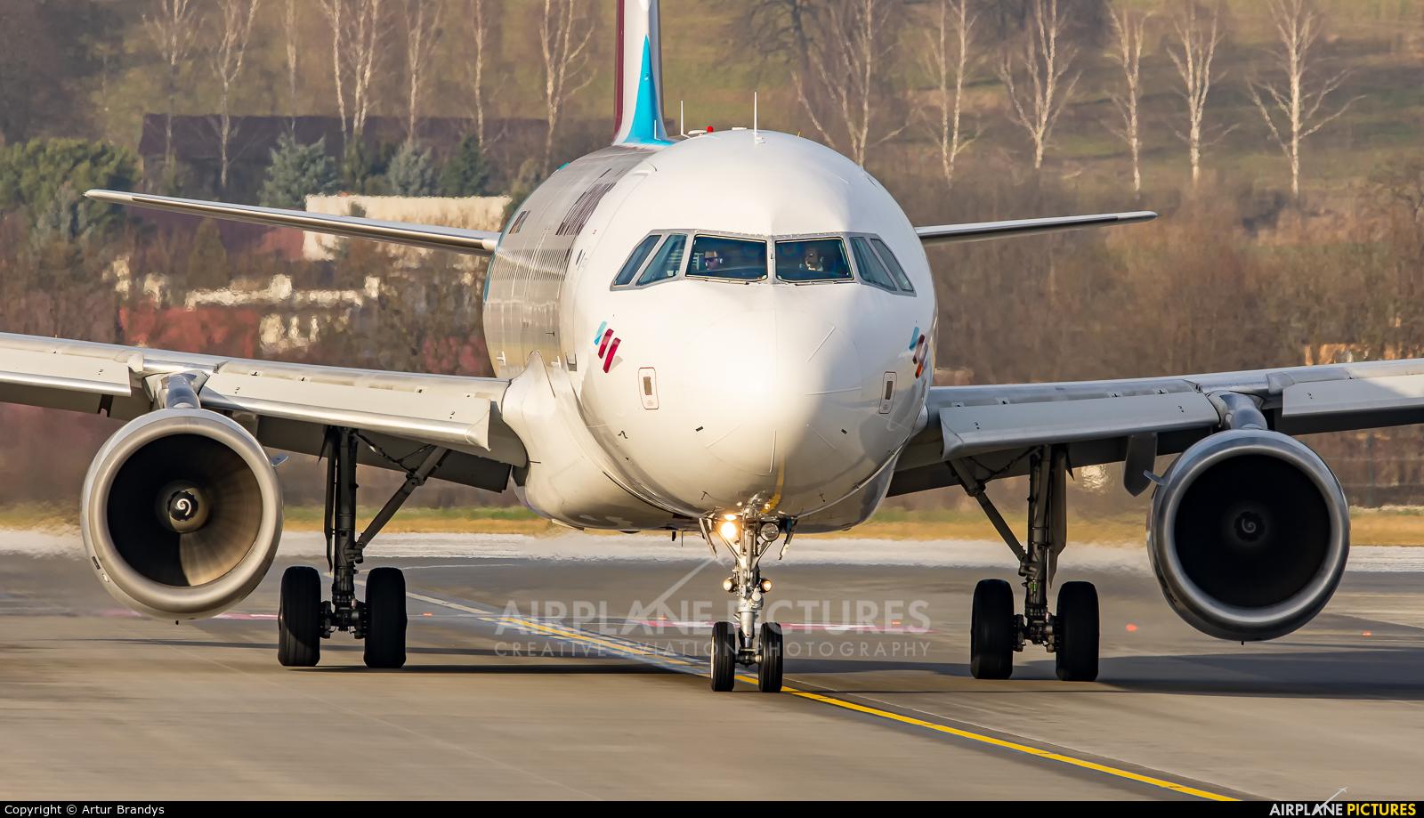 Eurowings D-ABNL aircraft at Kraków - John Paul II Intl