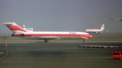 N538PS - PSA Boeing 727-200