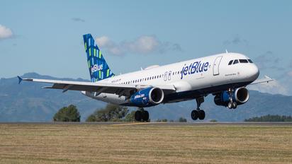N662JB - JetBlue Airways Airbus A320