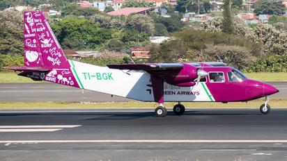 TI-BGK - Costa Rica Green Air Britten-Norman BN-2 Islander