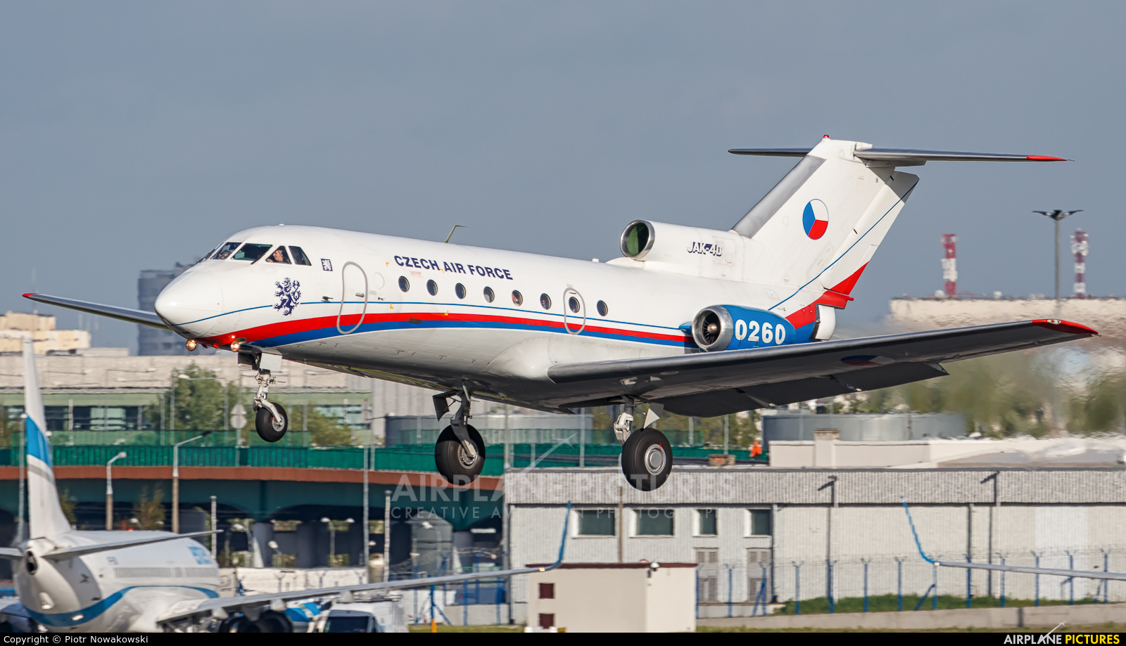 Czech - Air Force 0260 aircraft at Warsaw - Frederic Chopin