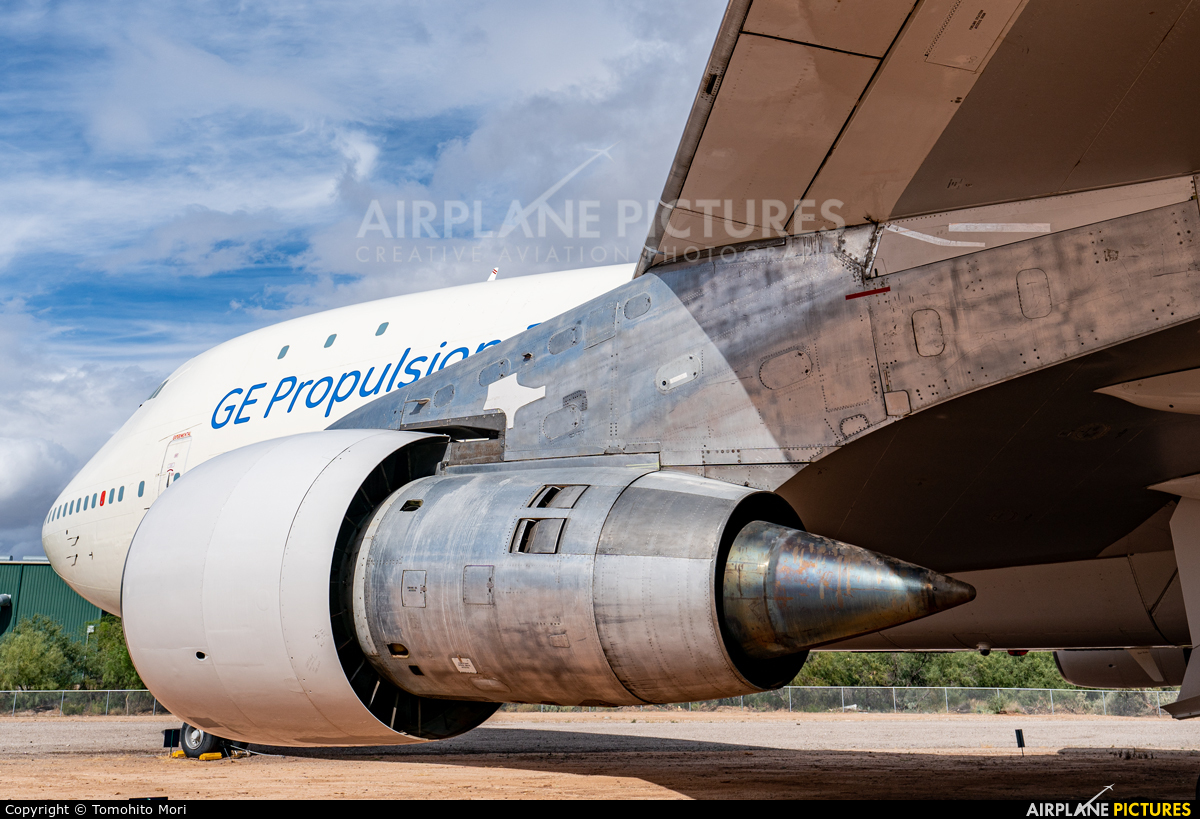 General Electric Aircraft Engines N747GE aircraft at Tucson - Pima Air & Space Museum