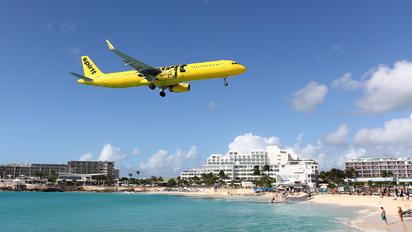 N664NK - Spirit Airlines Airbus A321