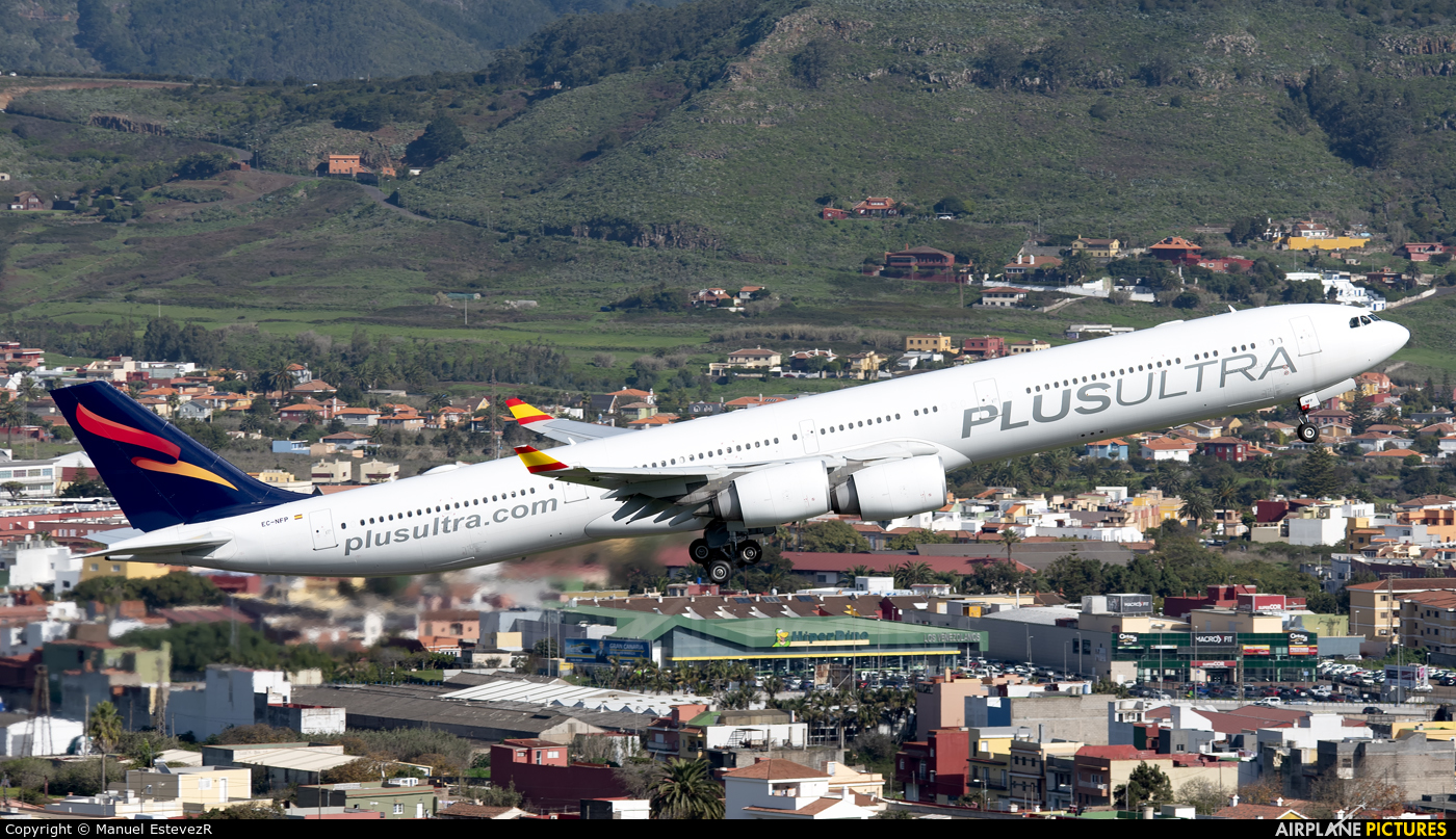 Plus Ultra EC-NFP aircraft at Tenerife Norte - Los Rodeos
