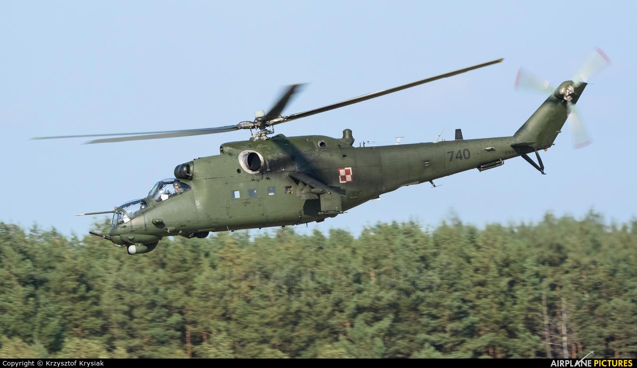 Poland - Army 740 aircraft at Mirosławiec