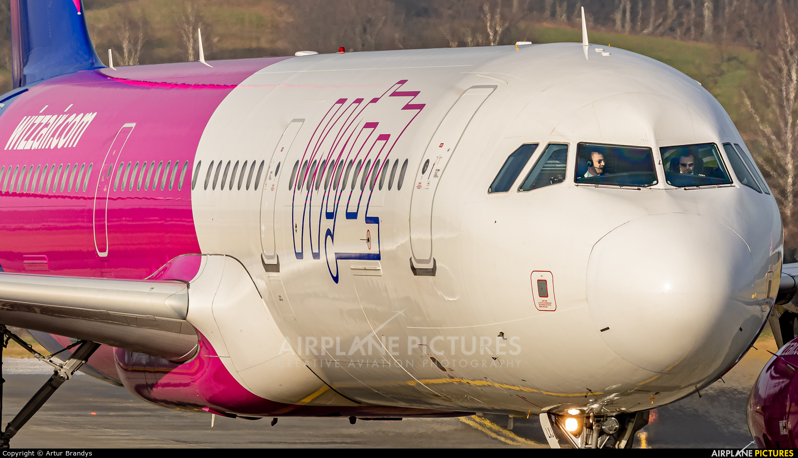 Wizz Air HA-LXJ aircraft at Kraków - John Paul II Intl