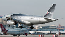 N528NK - Spirit Airlines Airbus A319 aircraft