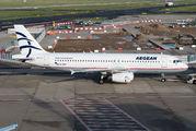 SX-DVT - Aegean Airlines Airbus A320 aircraft