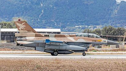 061 - Israel - Defence Force General Dynamics F-16D Barak