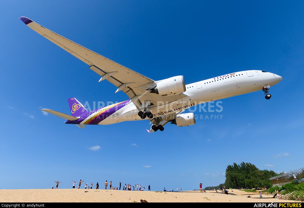 Thai Airways HS-THH aircraft at Phuket