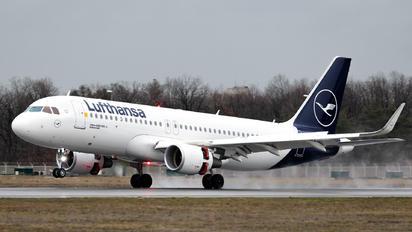 D-AIWD - Lufthansa Airbus A320