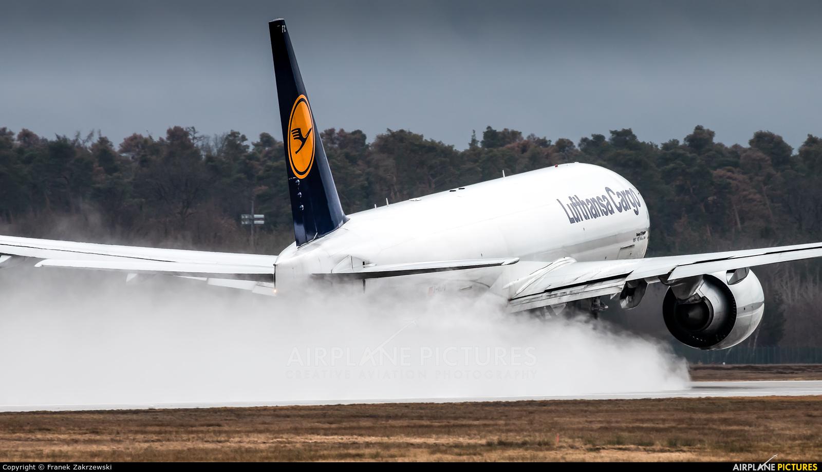 Lufthansa Cargo D-ALFC aircraft at Frankfurt