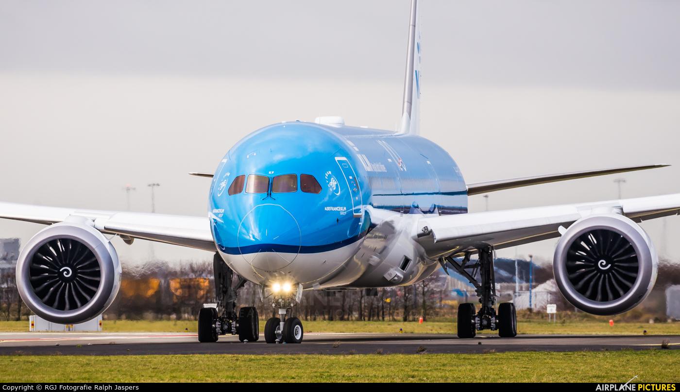 KLM PH-BKF aircraft at Amsterdam - Schiphol