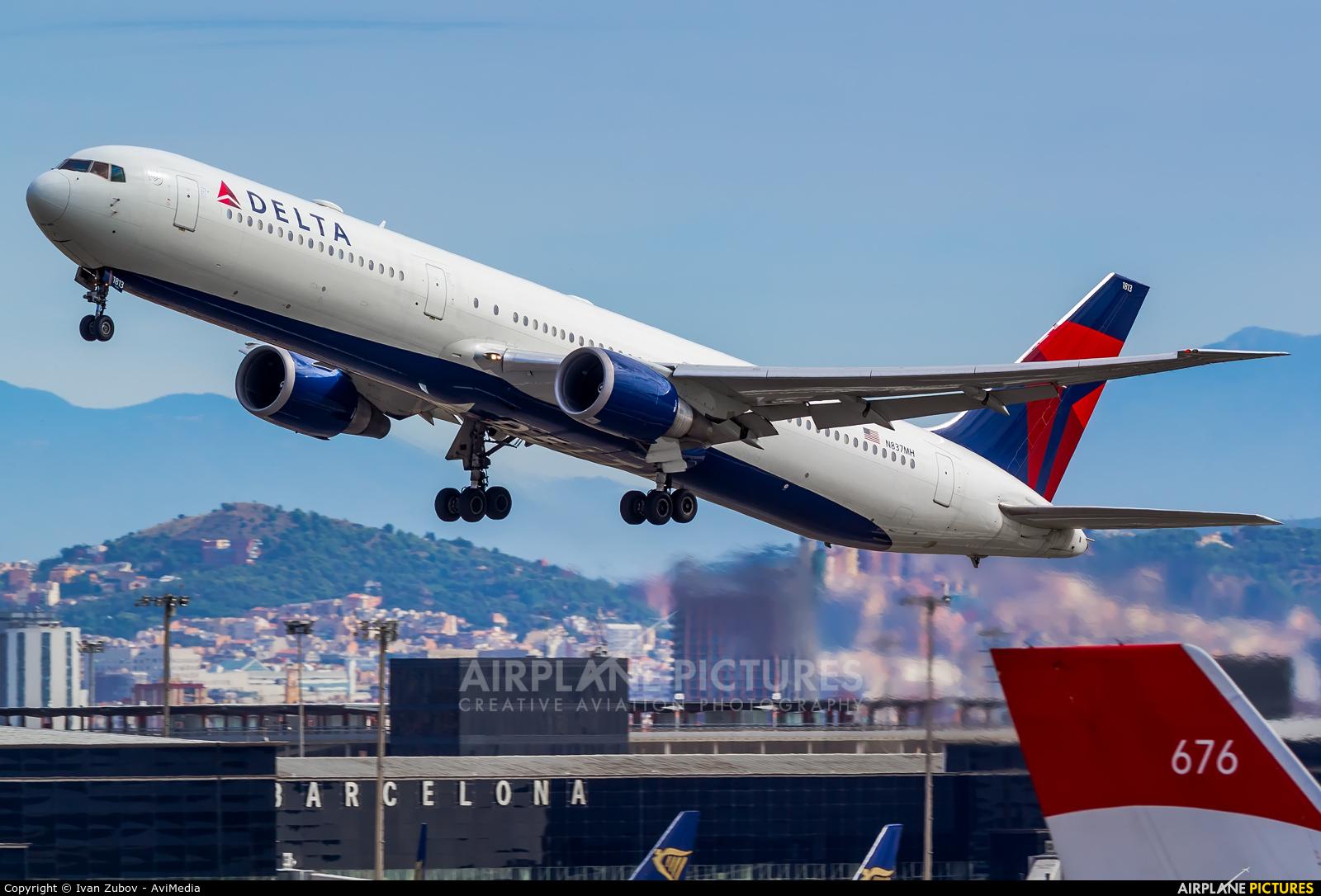 Delta Air Lines N837MH aircraft at Barcelona - El Prat