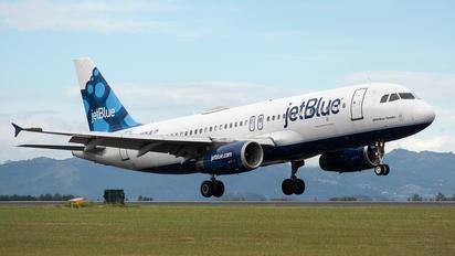 N506JB - JetBlue Airways Airbus A320
