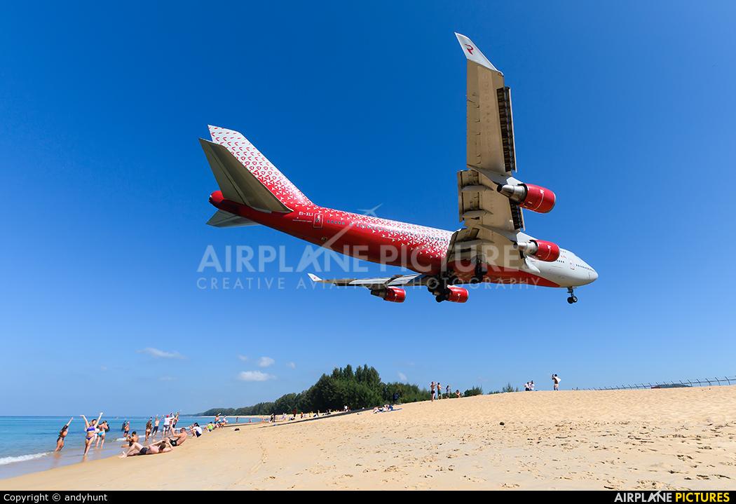 Rossiya EI-XLI aircraft at Phuket