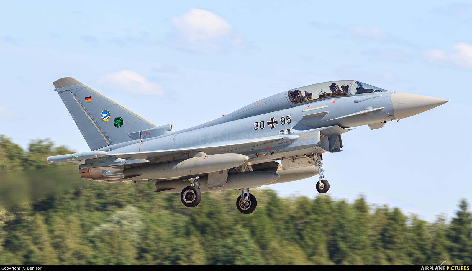 Germany - Air Force 30+95 aircraft at Poznań - Krzesiny