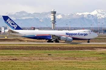 JA11KZ - Nippon Cargo Airlines Boeing 747-8F