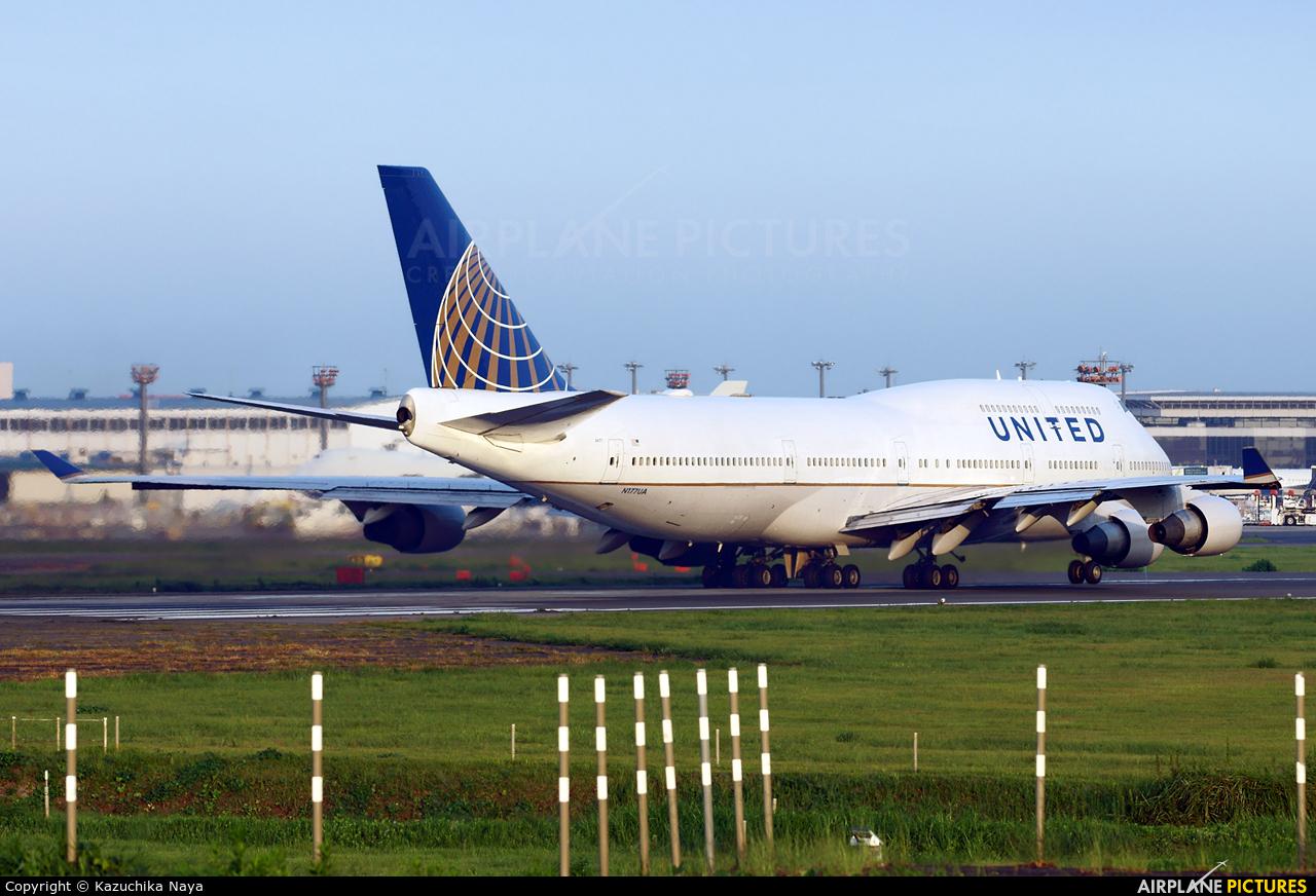 United Airlines N177UA aircraft at Tokyo - Narita Intl