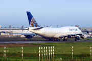 N177UA - United Airlines Boeing 747-400 aircraft